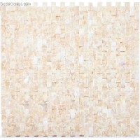 100% Natural China Marble Stone Off White Wall Tile