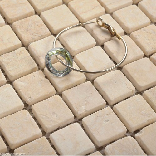 4MM Thickness Pure Marble Stone Floor Tile Mosaic