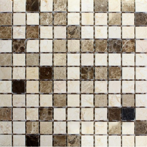 Pure Stone Mosaic Backsplash Mosaic 48X48 Big Chip Size Garden Decor Tile