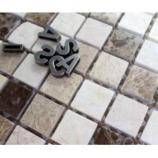 Pure Stone Mosaic Backsplash Mosaic 48X48 Big Chip Size Garden Decor Tile