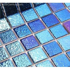 Sea Blue Floor Mosaic Tiles Porcelain Cheap Home Decoration from DecorGenius DGCM004