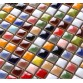 Rainbow Multicolored Ceramic Sink Mosaic Wall Tiles Wholesale Free Shipping