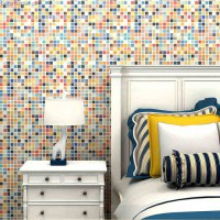 Mixed Candy Chips Hotel Bathroom Mosaic Tile Decoration