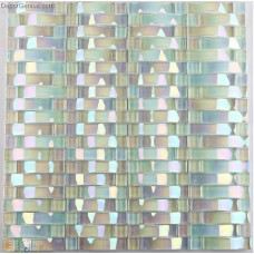 Crystal Glossy Pure Diamond MIrror Glass Woven Mosaic Tiles for home Decoration