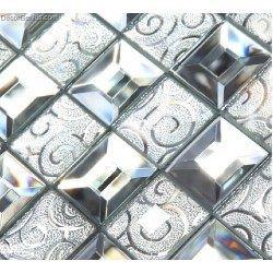 Modern Popular Glass Mirror Mosaic Tile Kitchen Mosaic Tiles for Backsplash