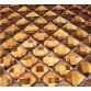 13 Faced Gold Crystal Mirror Backsplash Discount Tiles Shining Mosaic Tile