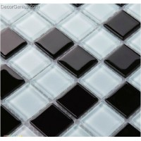 Modern Durable Wall Tile Black and White Wholesale Mosaic Tiles
