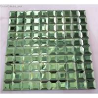 5 Faced Wall Tile Green Wallcover Tiles DGGM039 Home Decor Mosaic Tiles