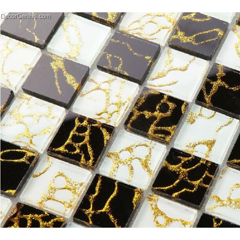 11 Sheets Gold Nailed Backsplash Tile