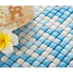 Swimming Pool Wall Design Mosaic Glass Decoration Tiles Art
