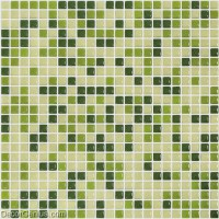 DecorGenius Candy Green Glass Mosaic Mixed Color Bathroom Tile Home Deocration Tiles