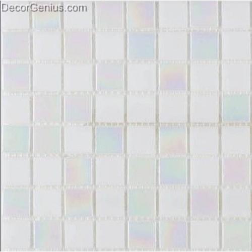 Pure White Reflection Glass Diamond Mosaic Tile DGGM075 Free Shipping Cheap China Mosaic Tiles