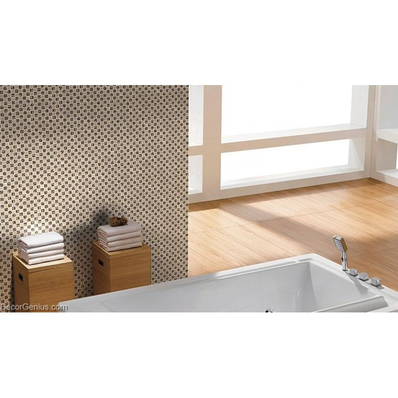 Stainless steel bathroom tiles