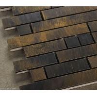 DecorGenius Copper Classic Vintage Mosaic Tile Living Room Decorative Metal Tiles