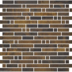 DecorGenius Copper Classic Vintage Mosaic Tile Living Room Decorative Metal Tiles