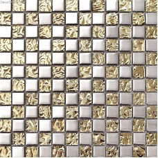 Metal Electroplating Mosaic Wall Tiles Floor Free Shipping