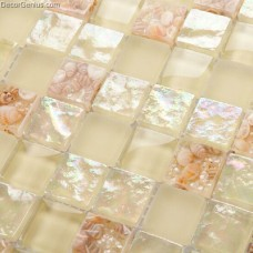 100% Natural Mother of Shell Mosaic Tiles Hand Made Wall Tiles Building Materials