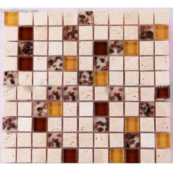 Mother of Shell Natural Hand-made Crystal Mosaic tiles for Kitchen Backsplash Decoration Mosaic Wall Covering