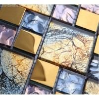 DecorGenius Colorful Home Decor Mosaic Tiles Art Sheets For Design Project Glass Mosaic Tiles Free Shipping
