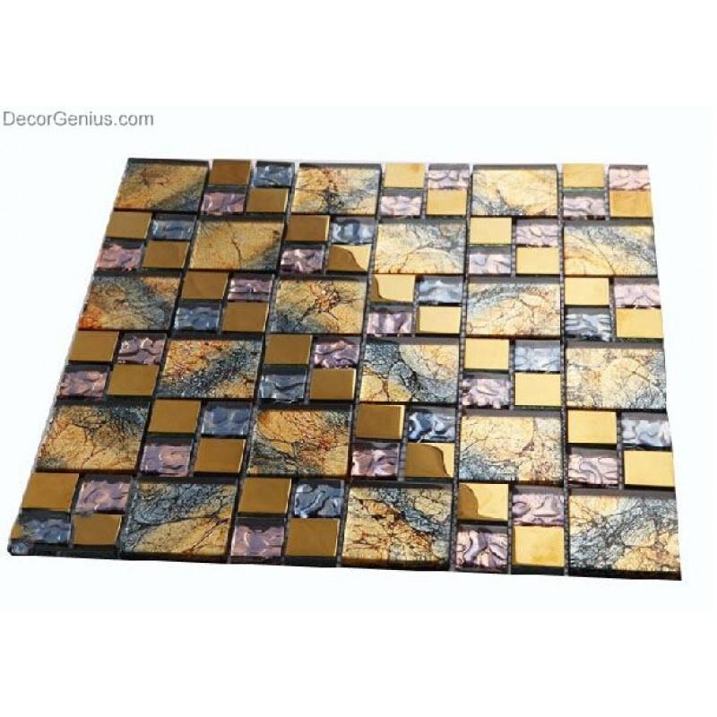 DecorGenius Colorful Home Decor Mosaic Tiles Art Sheets