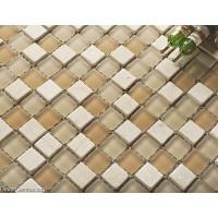 Diamond Stones Mosaic Kitchen Glass Backsplash Tiles Home Decoration