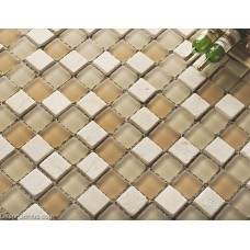 Diamond Stones Mosaic Kitchen Glass Backsplash Tiles Home Decoration
