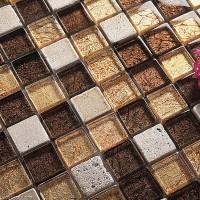 Mirror Diamond Glass Mosiac Tile DGWH032 Floor Tile Stone Mosaic Kitchen Building Tile