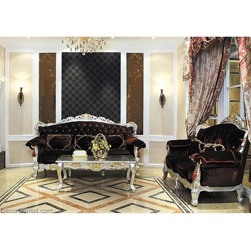 Living Room Black Leather Backsplash Tile High Quality