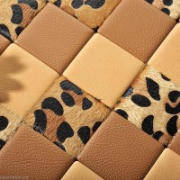 Tiger Leather Living Room Wall Tiles Free Shipping PU Home Decoration Floor Tile