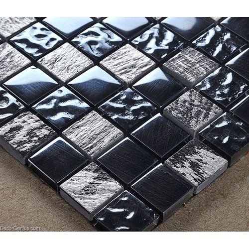 Pure Blue Sink Tile Home Kitchen Backsplash Mirror Stone Mosaic Tiles DGWH039