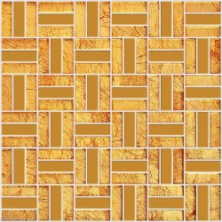 DecorGenius Home Wall Tile Decor 3D Natural Glass Mirror Counter Top Floor Tiles