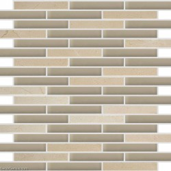 Matting Glass Mirror 3D Mosaic Tile Mirrored Wall Decor Tile Stickers Stone Wall Backsplash