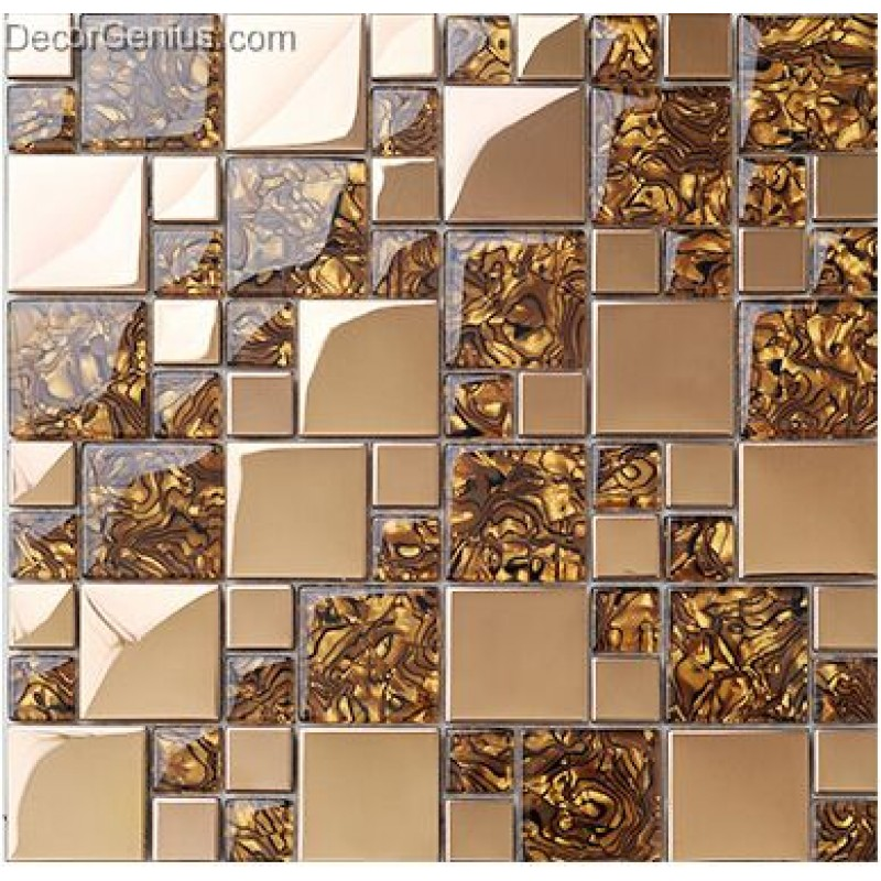 Tile Stickers Kitchen Pattern Wall Panel