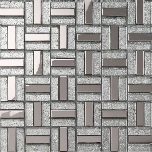 Silver Kitchen Wall Tiles: Silver Kitchen Wall Tile Backsplash Galvanized Bathroom