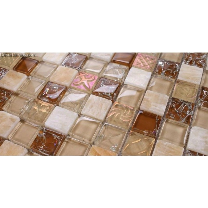 Kitchen Wall Tiles Patterned: Free Shipping Pink Patterned Ice Cracked Kitchen Mosaic