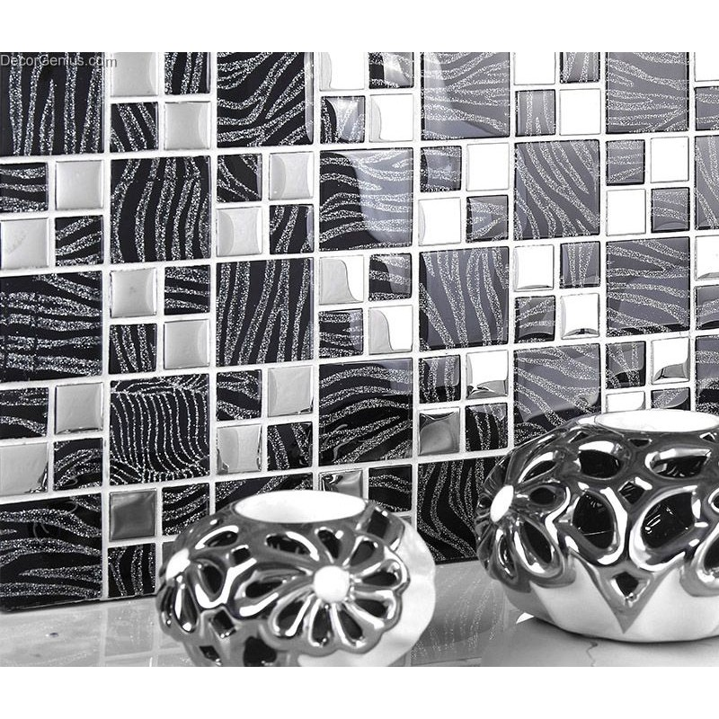 metal wall tiles for kitchen black metal wall decor kitchen galvanized mosaic 9156