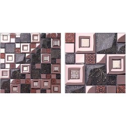 Special Made Stainless Steel Subway Tile Mosaic Glass Home Black and White Tile for Backsplash