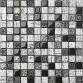 Porcelain Mosaic Wall Tile Decoration Natural Hand Made 3D Glass Backsplash Tiles