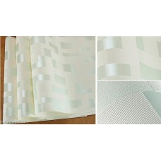 DecorGenius 5 Color Options Light Green Mosaics Style Decor Wallcovering Fabric Non Woven Wallcovering