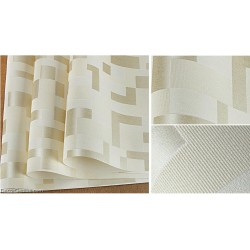 DecorGenius 5 Color Options Light Yellow2 Mosaics Style Decor Wallcovering Fabric Non Woven Wallcovering