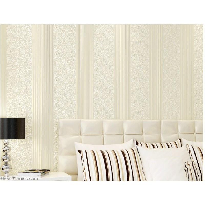 wedding wallpaper lt gold flower stripe 3d design home