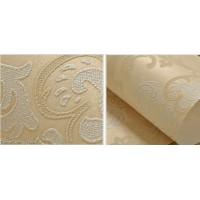 Living Room 3D Flower Wallpaper Dark Gold Seasonal Decoration Bedroom Wall Sticker