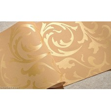 Popular 3D Design DK Gold Bedroom Wallpaper Modern Style DecorGenius DGWP004