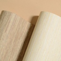Hotel Elegants Wooden Natural Wallcover Best for Home Decor Wood Wallpaper Rolls
