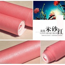 Fine Silk Basic Style Solid Color Wrinkled Aged 7 Colors Wallpaper For Living Room