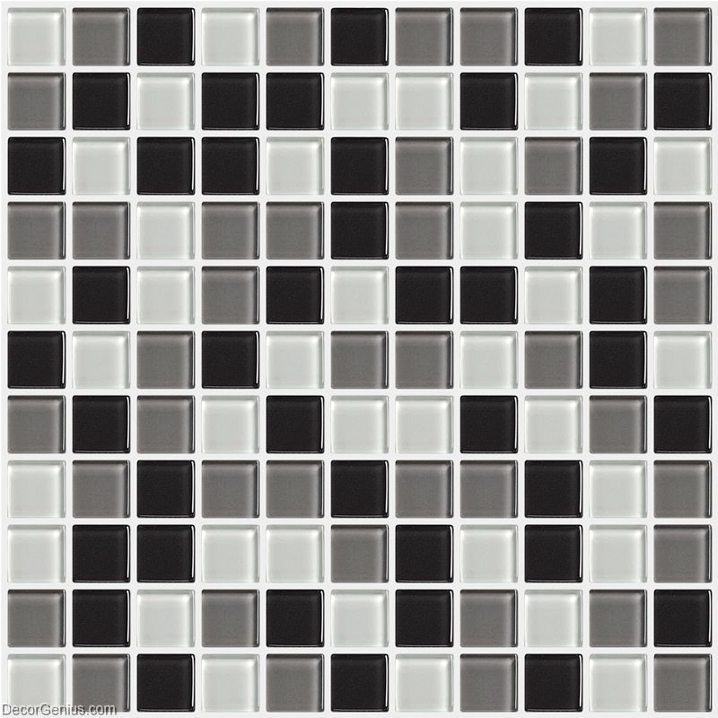 tiles black and white discount tile backsplash dggm054 glass stickers