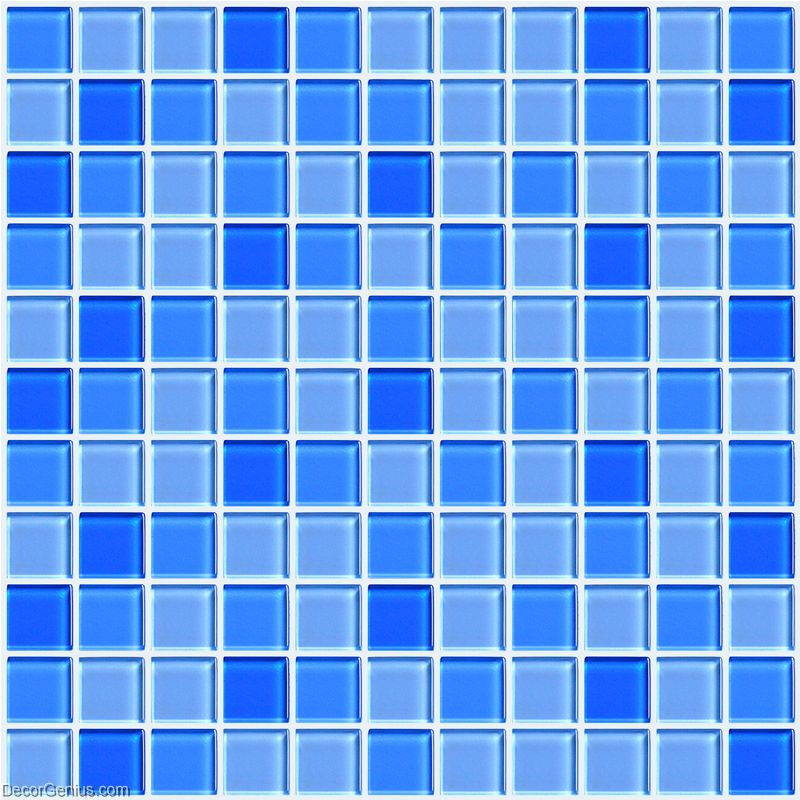 hot sales blue swimming pool wall tiles dggm062 glass