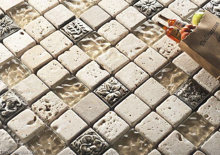 Crystal Stone Blend Wall Tile 300x300 Mosaic 11 Sheets Hot Sale Kitchen Backsplash Tiles