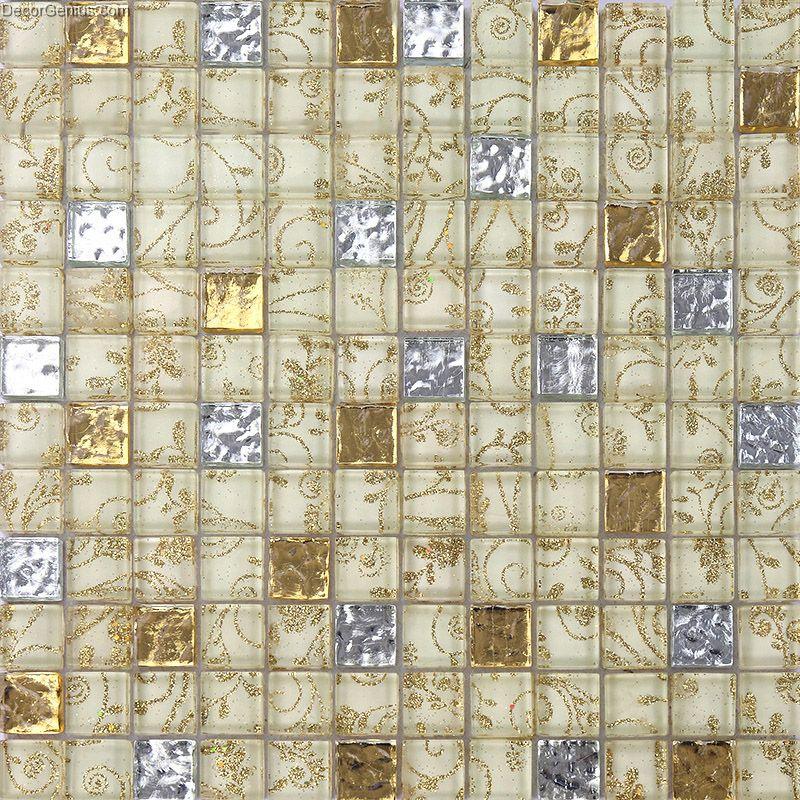 Living Room Stone Wall Home Mixed Materials Mosaic Tiles Glass Mosaic