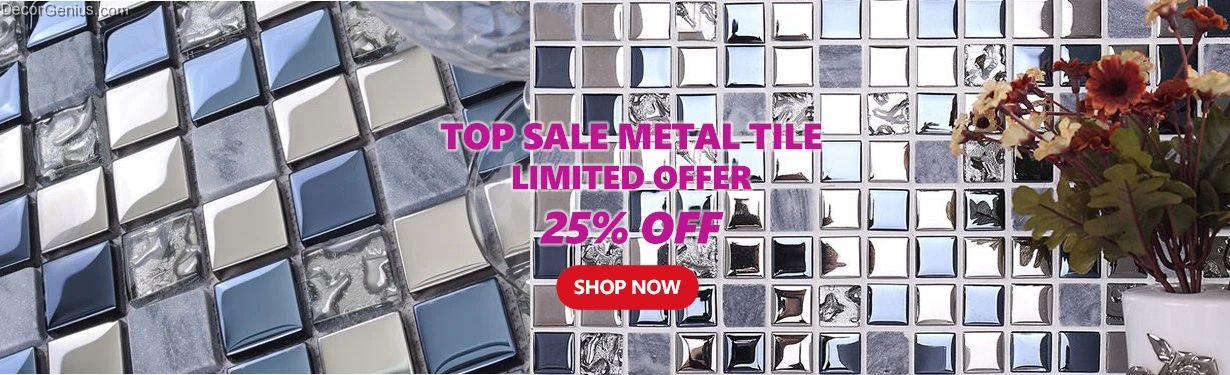 DecorGeniuscom Free Shipping Kitchen Tile Glass Mosaic At - Discounted tile factory